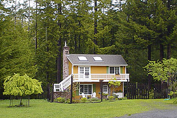 long view of mendocino coast vacation rental