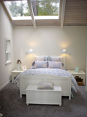 queen bedw skylight